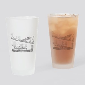 nycblk Drinking Glass