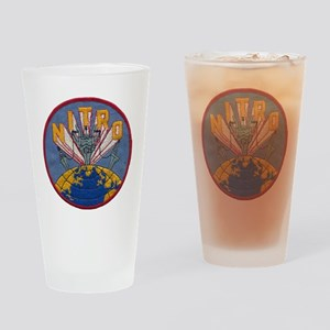 uss nitro patch transparent Drinking Glass