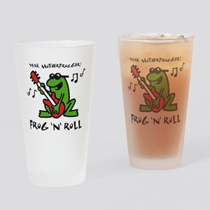 frog n roll 07-2011 F 3c Drinking Glass