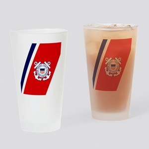 USCG-Tile-2 Drinking Glass