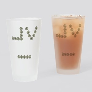 Mormon Eye Drinking Glass