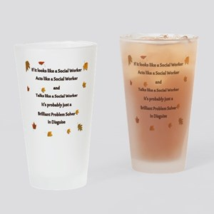 brilliant problem solver 2 Drinking Glass
