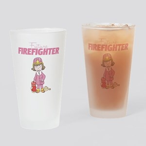 Future Firefighter Drinking Glass