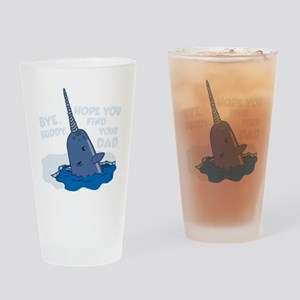 Elf Narwhal Drinking Glass