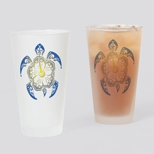 Sea Turtle Art Drinking Glass