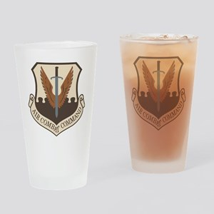 USAF-ACC-Shield-Desert Drinking Glass