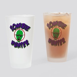 Zombie Hunter #1 Drinking Glass