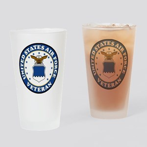 USAF-Veteran-Bonnie-3 Drinking Glass