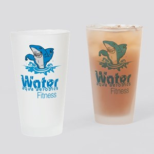 Tommy Mac Aqua Aerobics Water Fitne Drinking Glass