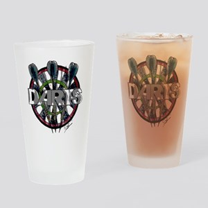 Darts Drinking Glass