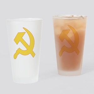 Communist_Shirt Drinking Glass