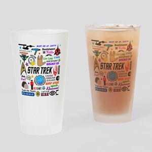 Trekkie Memories Drinking Glass