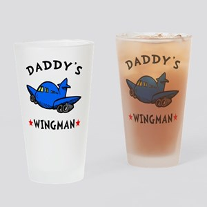 Daddys Wingman Drinking Glass