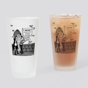 5199_mortuary_cartoon Drinking Glass