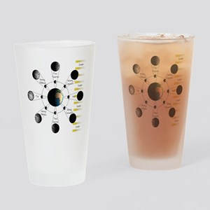 Lunar Cycle Drinking Glass
