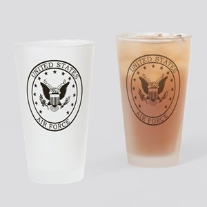 USAF-Patch-3-Midnight-Blue Drinking Glass