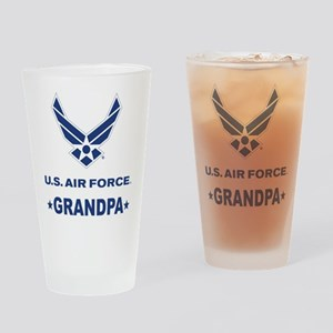 Air Force Grandpa Gift Drinking Glass