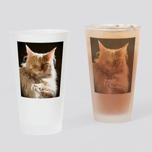 leo-onblack Drinking Glass