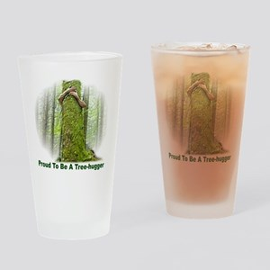TreeHugger12x12 Drinking Glass