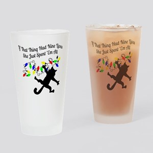 Nine-Lives-Colors Drinking Glass