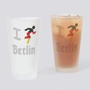 I-Run-Berlin-1 Drinking Glass