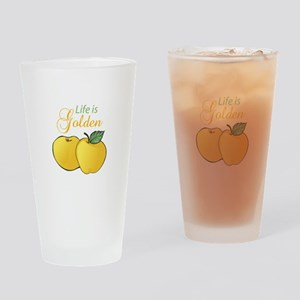 LIFE IS GOLDEN Drinking Glass