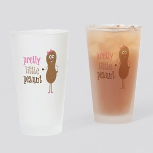 Pretty Little Peanut Drinking Glass