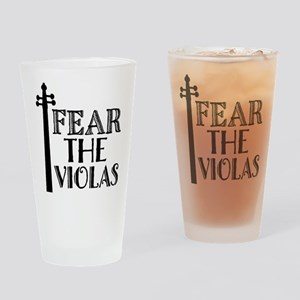 Viola Music Funny Gift Drinking Glass