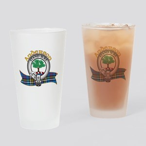 Anderson Clan Drinking Glass