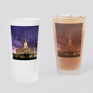 Jordan River Utah LDS (Mormon) Temp Drinking Glass