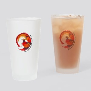 REVIVE FROM ASHES AND RISE Drinking Glass