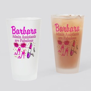 CUSTOM ADMIN ASST Drinking Glass