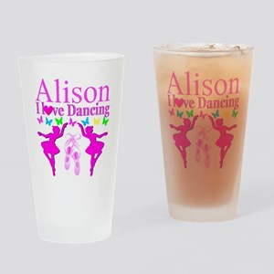 PERSONALIZED DANCE Drinking Glass
