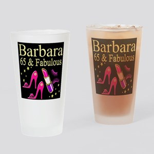 DAZZLING 65TH Drinking Glass