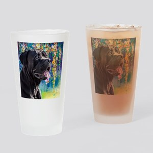 Cane Corso Painting Drinking Glass