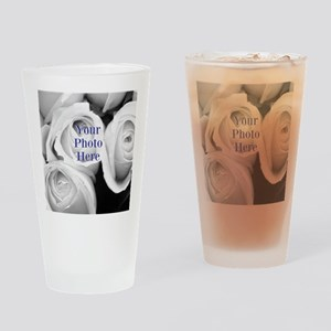 Your Photo Here by LH Drinking Glass