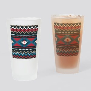 Native Pattern Drinking Glass