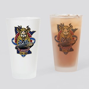 USS Minnesota SSN 783 Drinking Glass