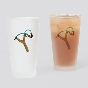 Slingshot Drinking Glass