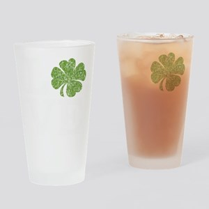 love_shamrock_white Drinking Glass