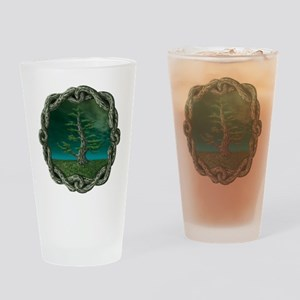 Celtic Knot Tree Drinking Glass
