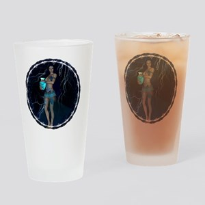 AQUARIUS Drinking Glass
