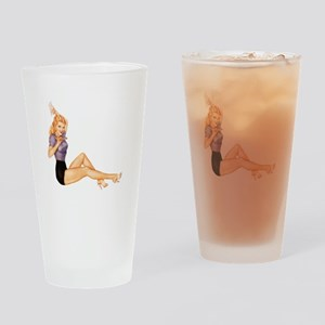 Pin Drinking Glass