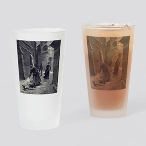 Jack The Ripper Drinking Glass