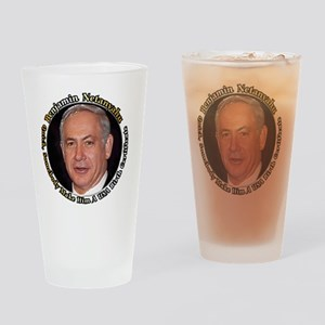 Netanyahu_6X6 Drinking Glass