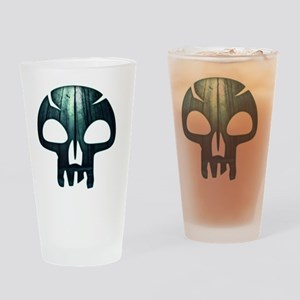 Magic the Gathering Swamp Skull Drinking Glass