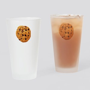 Cookie Inspector White SOT Drinking Glass