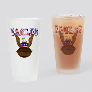 USA Rugby Drinking Glass