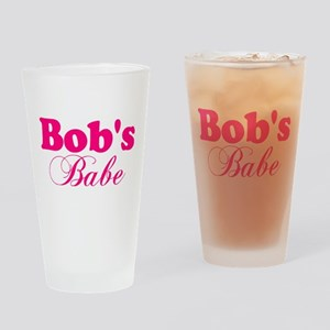 Bob's Babe Drinking Glass