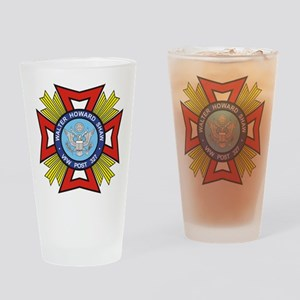 Post 327 logo Drinking Glass